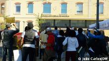 Protest in Lissabon gegen die MPLA, die Regierungspartei in Angola am 06.10.21, Portugal.