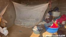 6.10.2021, Luanda, Angola, Bewohner des Viertels Povoado in Luanda. Mehr als 50 Familien, die Opfer von Zwangsräumungen wurden, leben dort unter schrecklichen Bedingungen: Männer, Frauen und Kinder ohne Wasser, Licht und oft auch ohne Nahrung.
