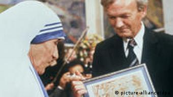 Mutter Teresa Friedensnobelpreis 1979