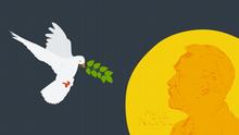 Infografik Illustration Nobelpreis-Frieden