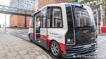 Αυτόνομα λεωφορεία, λιμάνι Αμβούργου Heat,