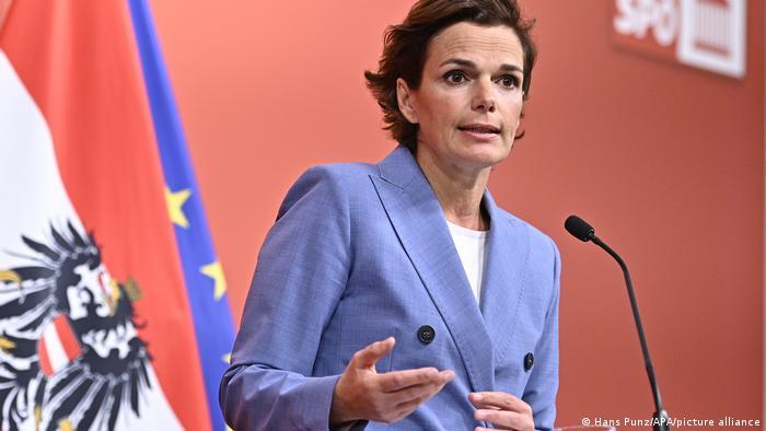 Österreich Wien   SPÖ zu den ÖVP Ermittlungen   Pamela Rendi-Wagner