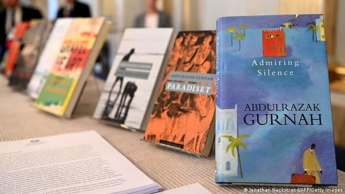 A selection of books by Abdulrazak Gurnah