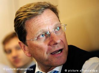 Germany Foreign Minister Guido Westerwelle