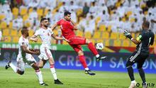 VAE-Iran am 07.10.2021 WM-Qualifikation Iran in rot Stichworte: VAE-Iran am 07.10.2021 WM-Qualifikation Iran in rot Quelle: ffiri.ir (rechtefrei)