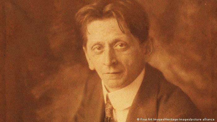 Alexander Zemlinsky 1915 als mittelalter Mann