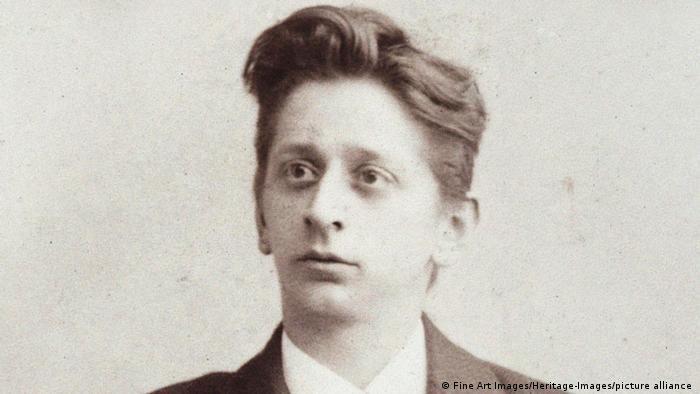 Alexander Zemlinsky als junger Mann (circa 1900)