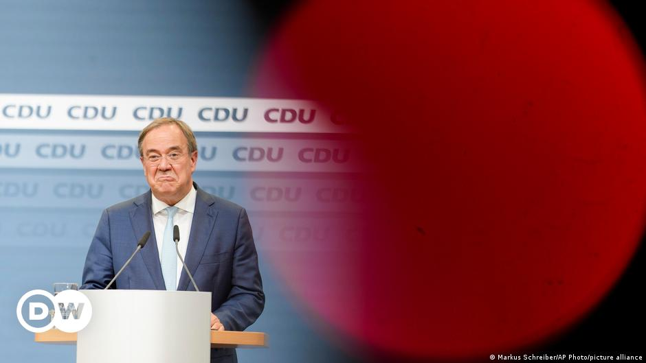 Germany's CDU divided as it chooses Armin Laschet's replacement