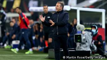 WM Qualifikation | Deutschland vs. Rumänien | Hans-Dieter Flick, Nationaltrainer