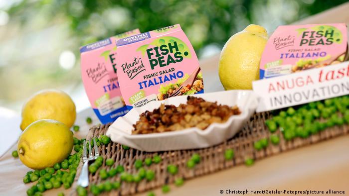 Anuga-2021. Веганский салат со вкусом морепродуктов