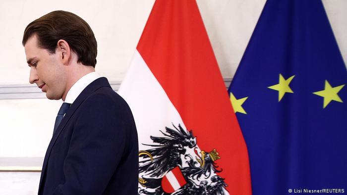 Başbakanlık görevinden istifa eden Sebastian Kurz