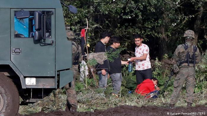 Polen Grenze Belarus Migranten