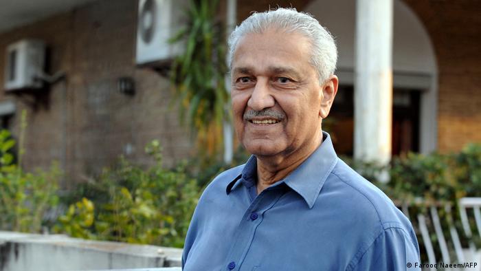 Abdul Qadeer Khan: ′Father′ of Pakistan′s atomic bomb dies at 85 | News |  DW | 10.10.2021