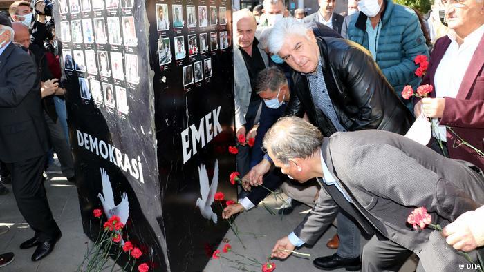 Türkei sechster Jahrestag des tödlichen Angriffs auf den Bahnhof von Ankara