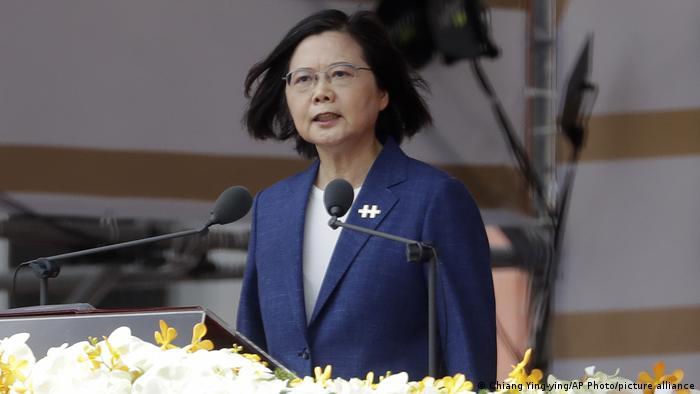 Taiwanesischer Nationalfeiertag Präsident Tsai Ing-wen