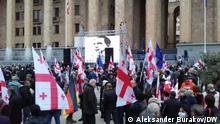 Datum/Ort: 10. Oktober 2021 in Tiflis, Georgien Protest und Forderung nach Freilassung von Mikhail Saakashvili.