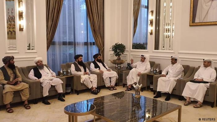 Taliban delegates meet with Qatari officials in Doha, Qatar
