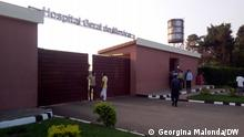 11/10/21, Moxico, Angola +++General Hospital of Moxico is in the main province of Angola and is experiencing an increase in deaths due to the late visit of patients to the health unit and the slowness of care (c) Georgina Malonda / DW