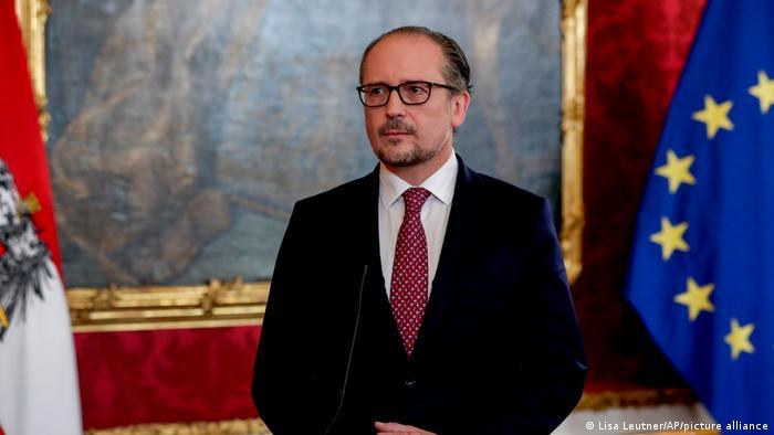 Wien Vereidigung Bundeskanzler Schallenberg