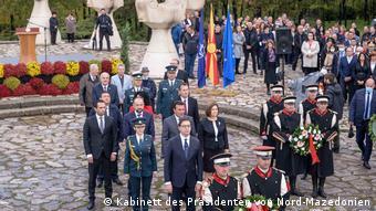 Nord-Mazedonien   80. Jahrestag des Aufstandes gegen den Faschismus   Regierungsdelegation