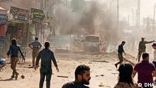 11.10.2021+++Autobombe in Afrin, Syrien. Copyright: Demirören Nachrichten Agentur