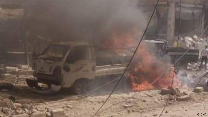 Syrien Bombenanschlag, in Afrin