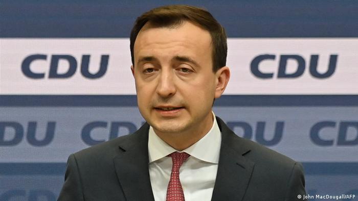 Paul Ziemiak, general secretary of Germany's CDU party