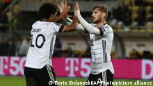 WM Qualifikation Nordmazedonien - Deutschland Timo Werner