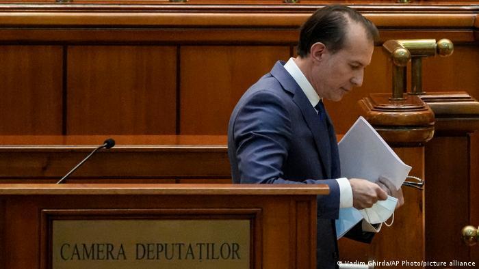 Der rumänische Ministerpräsident Florin Citu