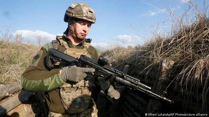 Ukraine Konflikt Soldat