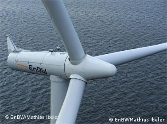 Off Shore Windpark Baltic I von der EnBW. Foto: EnBW/Mathias Ibeler