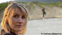 12.10.2021, Deutschland, Privatbild von Andreea Jijie. Sie ist eine junge Rumänin, die seit einiger Zeit in Deutschland für DHL arbeitet. Copyright: Andreea Jijie/privat. Die DW darf die Bilder veröffentlichen // Redaktion Medana Weident