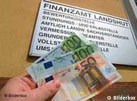 Все большая часть доходов граждан Германии уходит в государственную казну