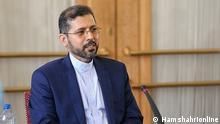 12.10.2021, Iran, Iran's Ministry of Foreign Affairs Spokesman, Saeed Khatibzadeh // Rechte frei