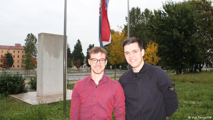 Jonas Hohenfors i Robert Wirtz