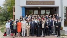 12.10.2021, Osijek, Kroatien, Deutsche Studenten der Medizinische Fakultät in Osijek, Kroatien - Uni Osijek bietet seit diesem Herbst Medizinstudium auf deutsch