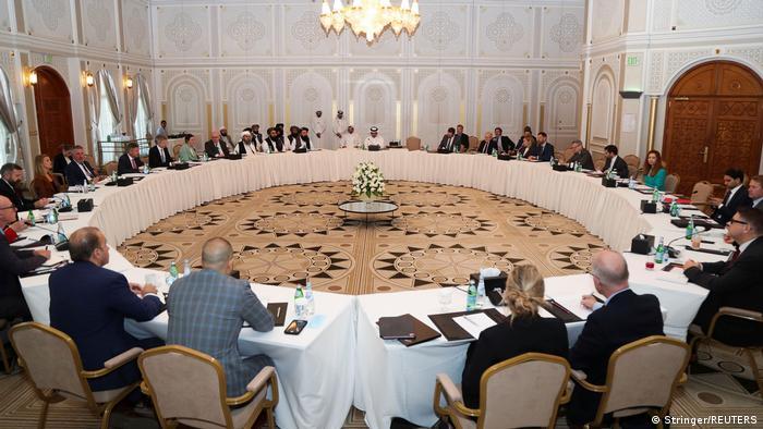 Afghanistan Taliban-Vertreter führen in Doha Gespräche mit US-amerikanischen und europäischen Delegierten