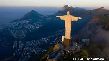 <div>Rio de Janeiro's famous Christ the Redeemer statue marks 90</div>