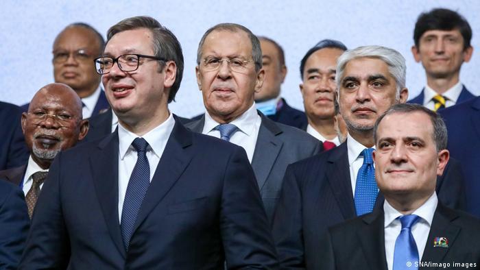 Serbien Belgrad   Konferenz Blockfreie Staaten