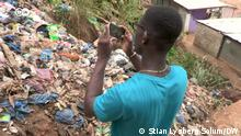 12.10.2021, DW Stills aus der DW-Sendung Eco Africa-Sendung (15.10.2021) / On this week's Eco Africa, we see how a young Congolese inventor generates sustainable electricity in Kinshasa and meet a Nigerian scientist battling antibiotic resistance in Germany.