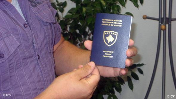 Besim Hoti Kosovo Reisepass