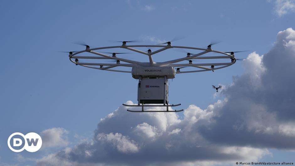 Germany: Heavy-duty drone makes first public launch in Hamburg