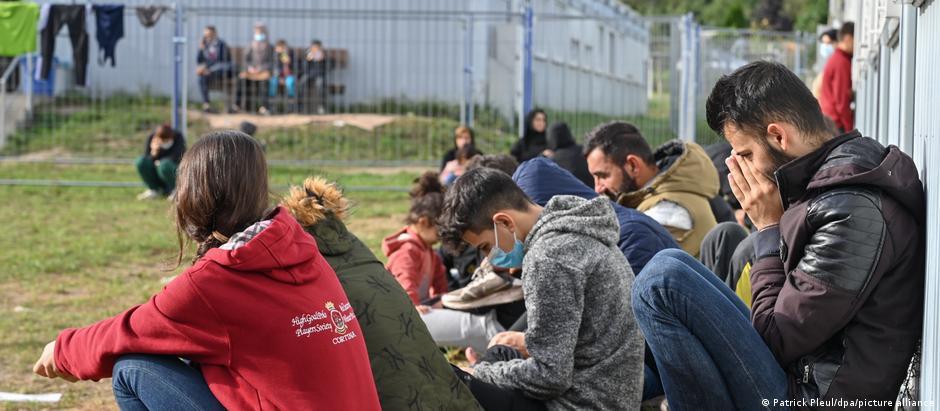 Deutschland | Flüchtlings-Erstaufnahme in Eisenhüttenstadt