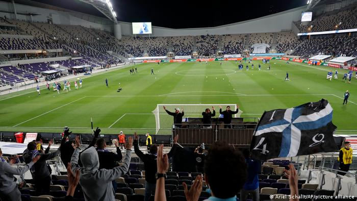 The new Bloomfield Stadium in Tel Aviv