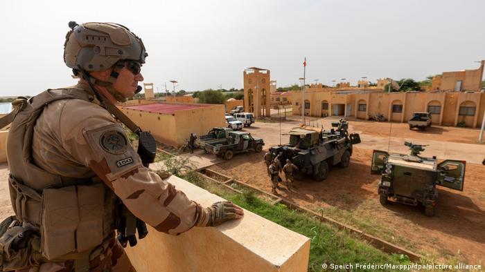 Soldat français à Menaka au Mali
