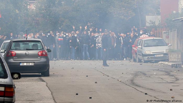 Kosovo Unruhen in Mitrovica