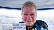 Actor William Shatner, Audrey Powers, Blue Origins Vice President of Mission & Flight Operations, Chris Boshuizen, and Glen de Vries are scheduled to fly on board Blue Origin New Shepard NS-18 which is set to lift off from Launch Site One on October 13. Featuring: William Shatner When: 12 Oct 2021 Credit: Blue Origin/Cover-Images.com **MANDATORY CREDIT: Blue Origin/Cover-Images.com. Only for use in this story. Editorial Use Only. No stock, books, advertising or merchandising without photographer s permission** PUBLICATIONxNOTxINxUKxFRA Copyright: xx 50763504