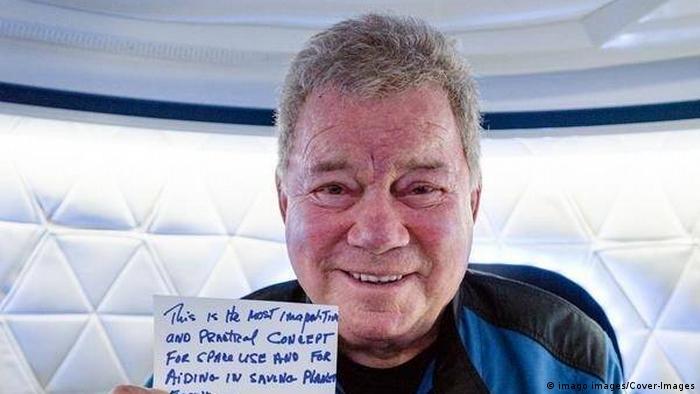 Suborbitale Flugmission NS-18 von Blue Origin | Schauspieler William Shatner