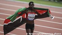 Langstreckenläuferin aus Kenia Agnes Jebet Tirop