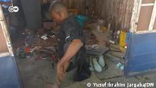Katsina Behinderte Schuhmacher (M) 10.10.2021, Katsina/ Nigeria